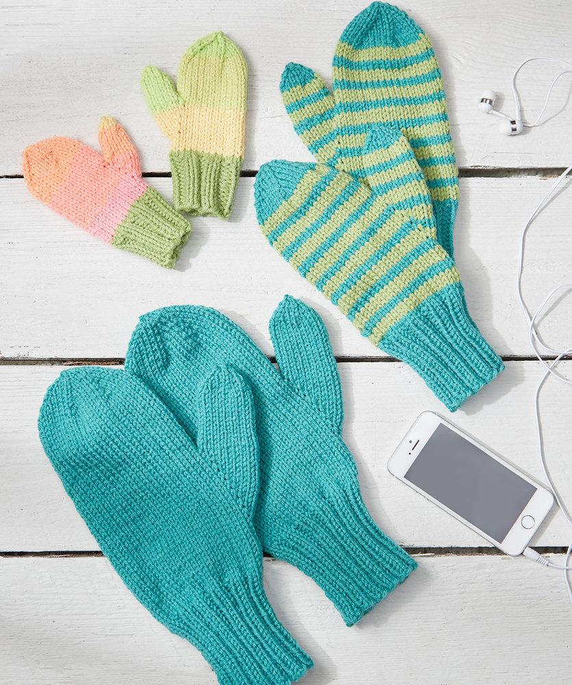 Free mittens Patterns ⋆ Knitting Bee (24 free knitting ...