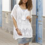 Portofino Lace Tunic Free Knitting Pattern