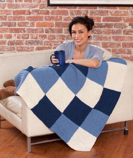 Reversible Blanket Knitting Patterns Download Free