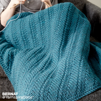 14 Free Reversible Blanket Knitting Patterns ⋆ Knitting Bee