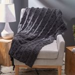 Reversible Block Throw Free Knitting Pattern Download