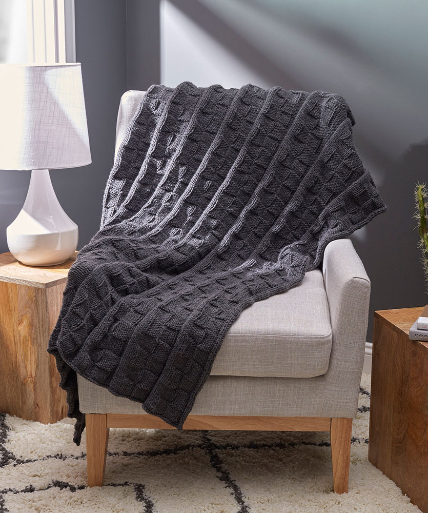 Free knit purl blanket knitting patterns Patterns ⋆ Knitting Bee (5 ...