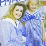 Shipmates Sail Away Dress Free Vintage Knitting Pattern