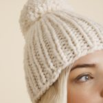 Snowball Hat Free Knitting Pattern