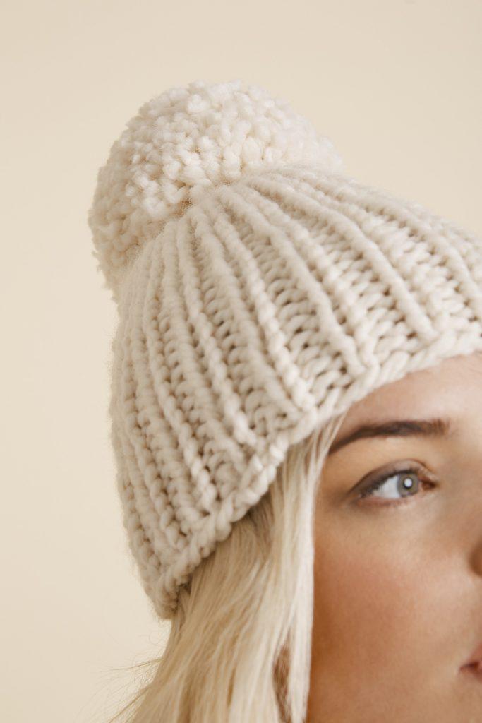 Free Free Ribbed Hat Knitting Pattern Patterns ⋆ Knitting