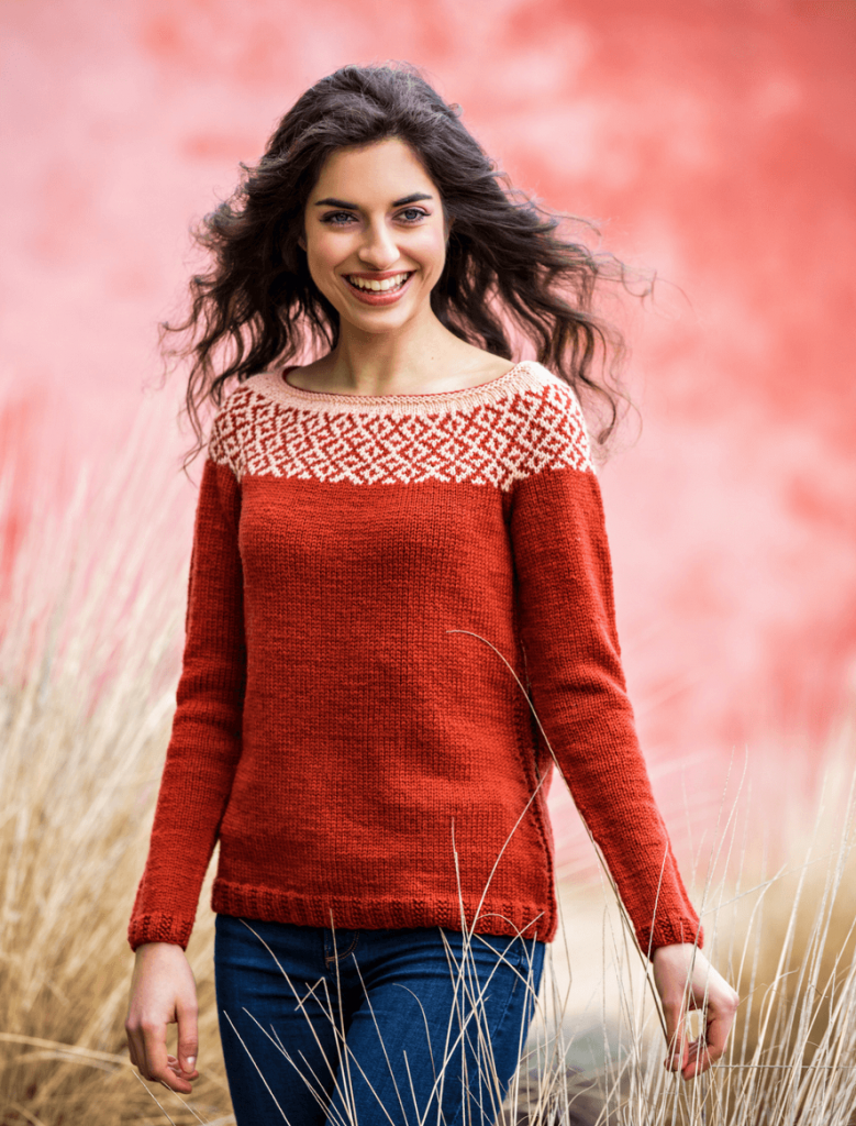 TEC Mosaico Sweater Free Knitting Pattern