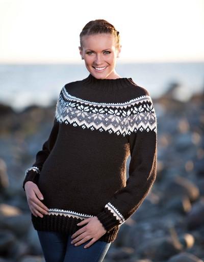 Free free fairisle sweater knitting pattern Patterns ⋆ Knitting Bee ...