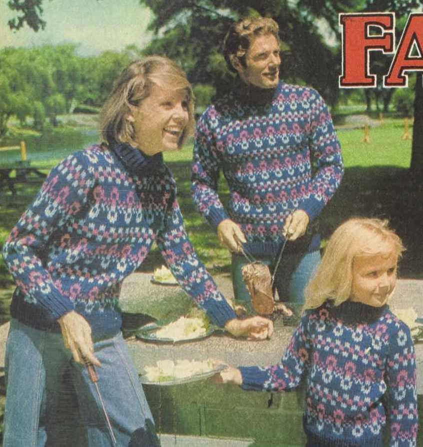 Free free fairisle sweater knitting pattern Patterns ⋆ Knitting ...