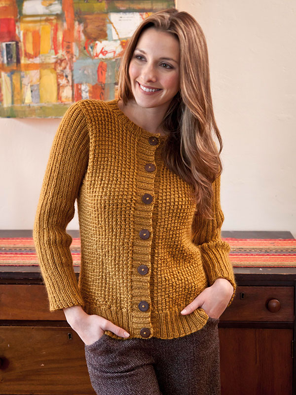 Free Knitting Pattern For Barnes Cardigan Knitting Bee