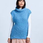 Free Knitting Pattern for a Chunky Wool Tunic