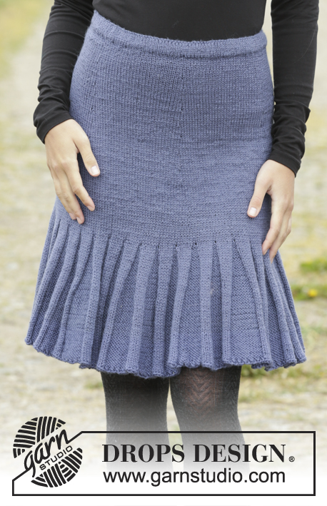 Free Knitting Pattern for a Flirty Skirty.
