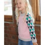 Free Knitting Pattern for a Kid's Graphic Pullover