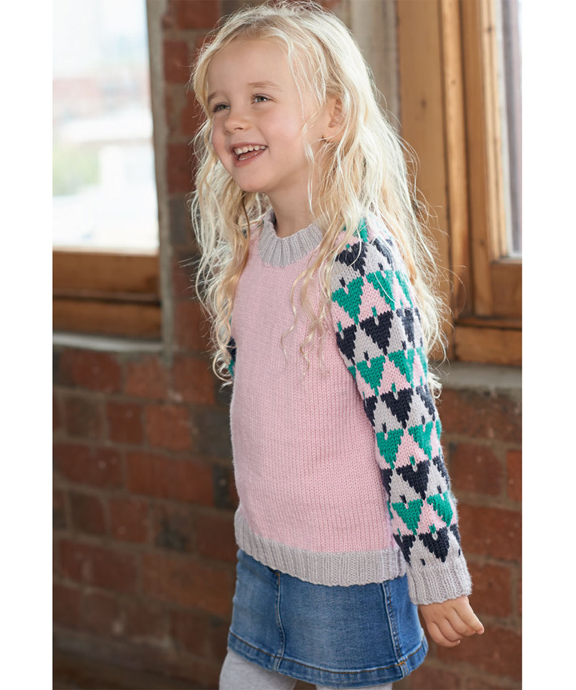 Free free girls sweater knitting patterns Patterns ⋆ Knitting Bee ...