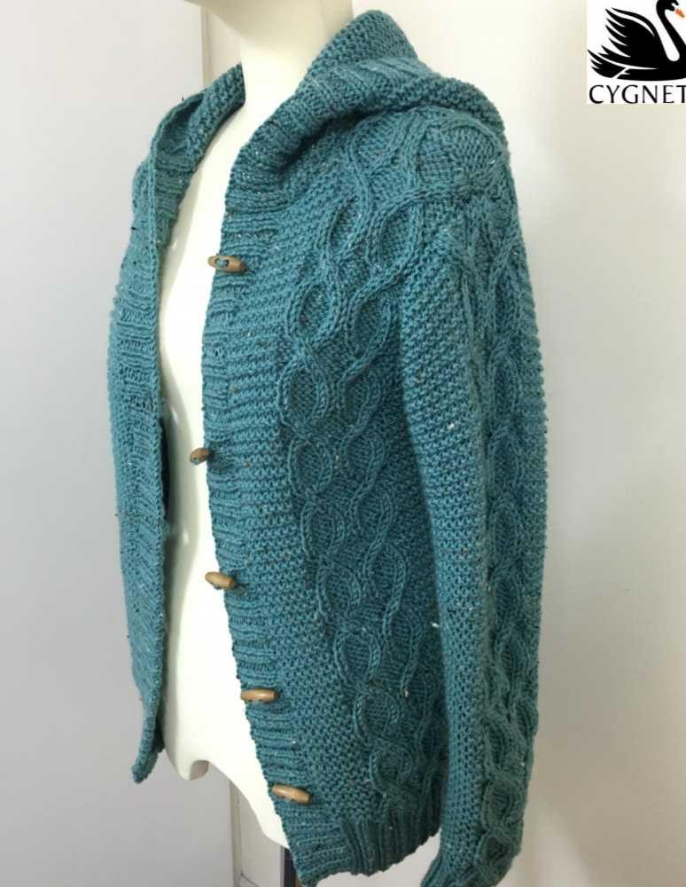 Free free cardigan knitting pattern with a hood Patterns