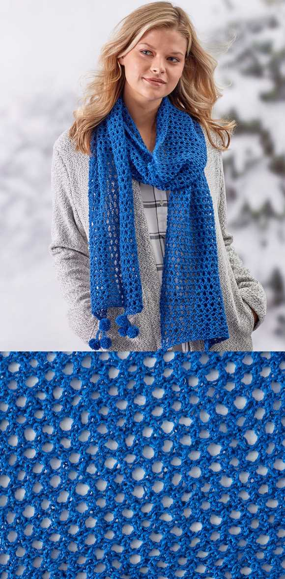 Free Lace Knitting Patterns for Beginners Scarf.