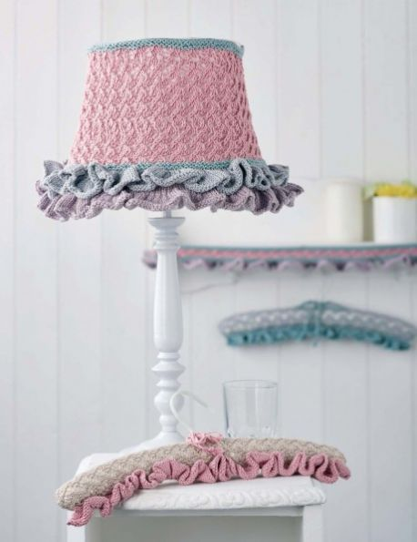 c842b00aacaa Free free knitting pattern for lampshades Patterns ⋆ Knitting Bee ...