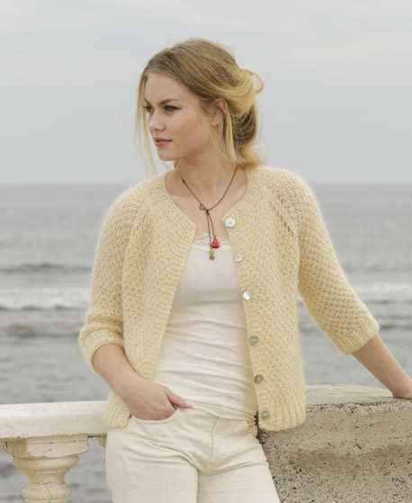 da22cee3def0 Le Conquet Free Knitting Pattern for a Raglan Jacket