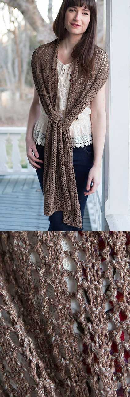 Scarf Free Lace Knitting Patterns for Beginners.