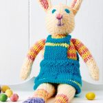 Free Knitting Pattern for Esther Bunny Toy