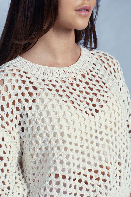 8de819a639f1 Free Knitting Pattern for Modern Cropped Tee