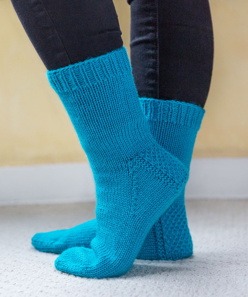 Free Knitting Pattern for My First Socks