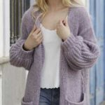 Free Knitting Pattern for Wayfarer Long Jacket