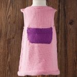Free Knitting Pattern for a Hattie Child Dress