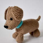 Free Knitting Pattern for a Loyal Puppy