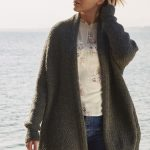 Free Knitting Pattern for an Oversized Relaxed Cardigan