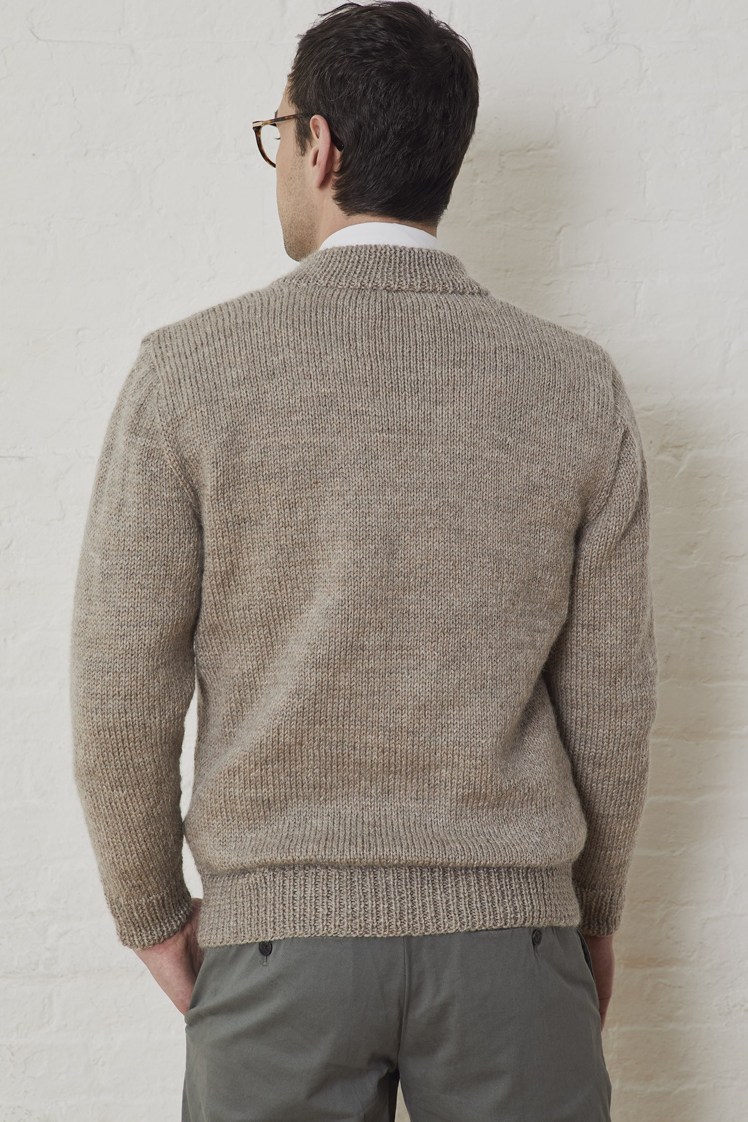Free Men S Knitting Pattern For A Neighborly Cardigan