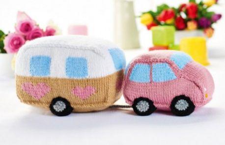 Free Car Knitting Pattern Patterns Knitting Bee 3 Free Knitting