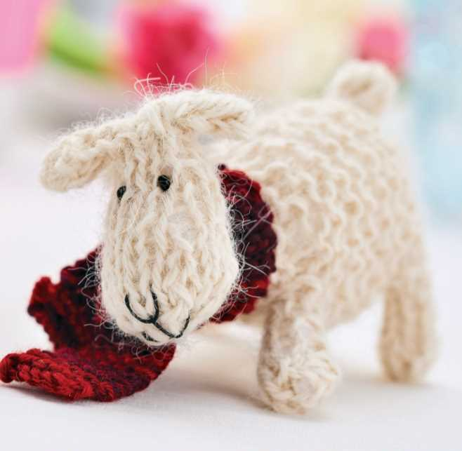 Free Pattern for a Little Sheep knitting