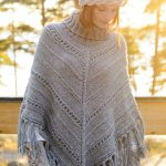 Free Pattern for a Women's Knitted Poncho