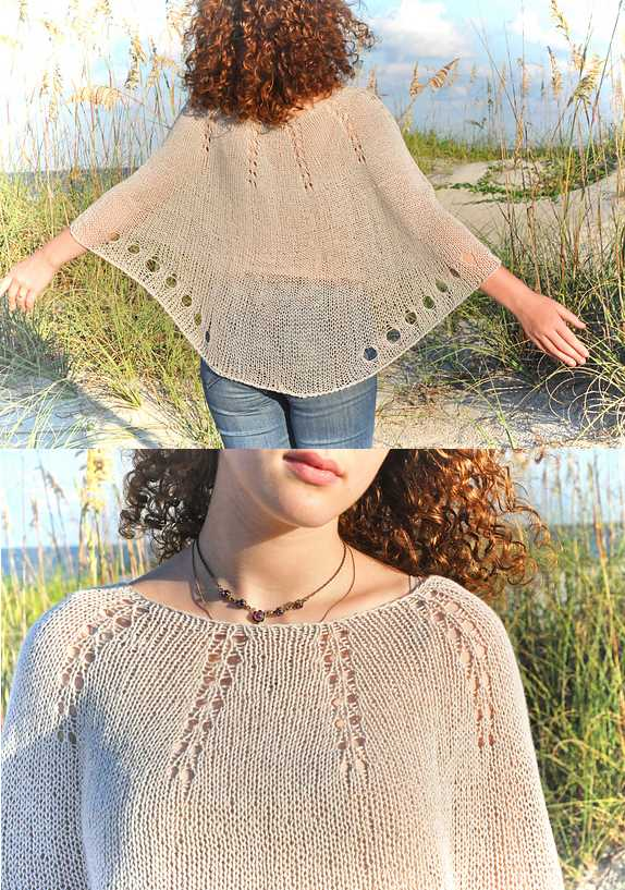 Free Summer Knitting Patterns 2018 Capelet