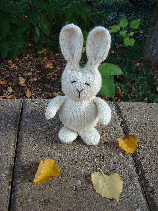 Free Knitting Pattern for Bunny Rabbits