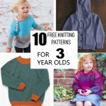 10 Free knitting patterns for 3 year olds