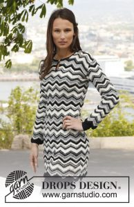 Buenos Aires Free Knitting Pattern for a Zig Zag Dress