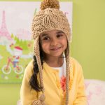 Free Knitting Pattern for a Cabled Toddler Hat
