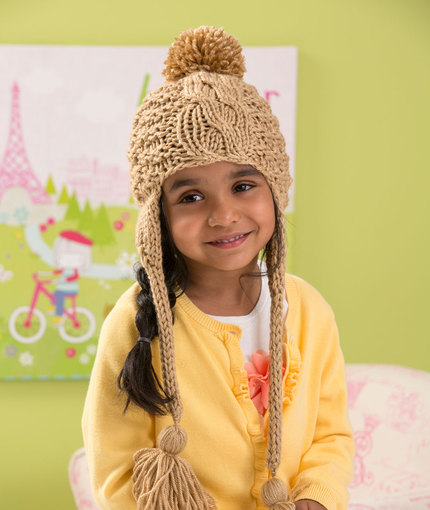 Free Knitting Pattern For A Cabled Toddler Hat Knitting Bee