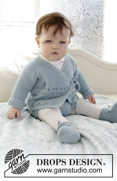 Free Baby Knitting Pattern for Jacket and Booties ⋆ Knitting Bee