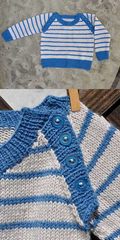16+ Free Baby Sweater Knitting Patterns to Download Now!
