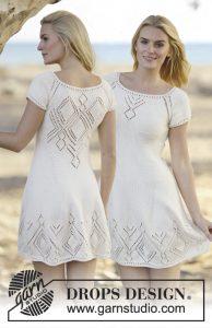 Free Dress Knitting Pattern Summer Feeling