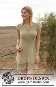Free Dress Knitting Pattern in Lace