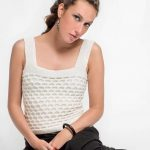 Free Knitting Pattern foe a Textured Tank Top