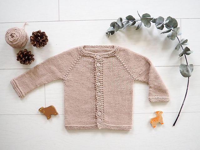Free Knitting Pattern for 3 Year Old Cardigan