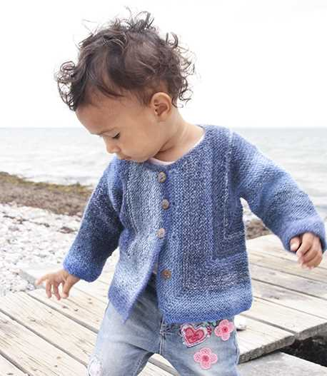 Free Knitting Pattern for 3 Year Old Garter Stitch Sweater