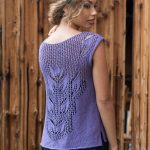 Free Knitting Pattern for Marsh Lace Top