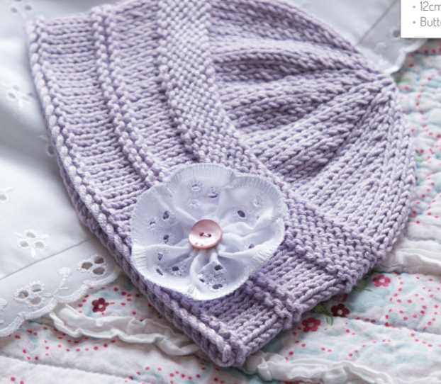 Free Knitting Pattern for a Baby Hat