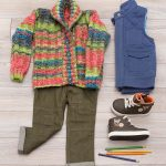 Free Knitting Pattern for a Child's Little Scholar Cardigan