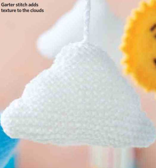 Free Knitting Pattern for a Cloud
